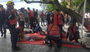 Venezuela: un muerto y más de 30 heridos tras estampida para ingresar a concierto gratuito