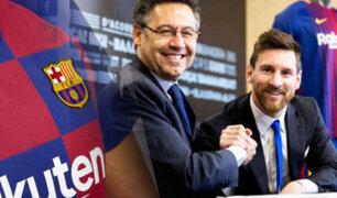 Lionel Messi: Barcelona ofrecerá un contrato indefinido al astro argentino