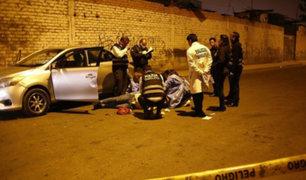 Ate: hombre es asesinado a balazos por presuntos sicarios