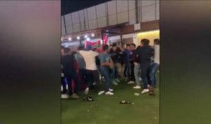 Huánuco: policías vestidos de civil protagonizan pelea al interior de discoteca
