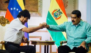 """Maduro tras renuncia de Evo: """"condenamos el golpe de Estado contra el hermano"""""""