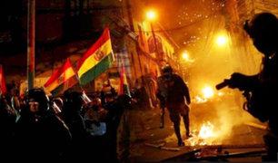 Bolivia: manifestantes atacaron e incendiaron casa de la hermana de Evo Morales