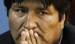 """Morales dijo no """"entender"""" por qué no se permitió aterrizaje de avión en Lima"""