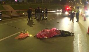 Los Olivos: conductor se da a la fuga tras atropellar a motociclista