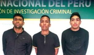 """Depincri de Miraflores: """"Los Malditos del Rolex"""" fugaron de sede policial"""