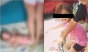 México: mujer se graba golpeando brutalmente a su hija
