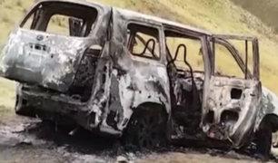 Huancayo: queman y disparan a cinco miembros de una familia