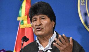 Bolivia: Evo Morales conformará Comisión de la Verdad para verificar si hubo fraude electoral