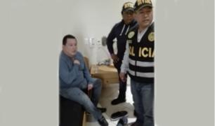 Exgobernador regional del Callao, Felix Moreno fue capturado en Cieneguilla