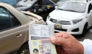 MTC: vigencia de licencias de conducir vencidas se extiende hasta 31 de julio