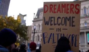EEUU: miles de 'dreamers' esperan futuro de DACA ante corte suprema