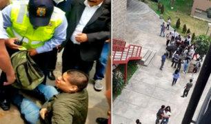 Tras acoso de sujeto armado: Sanmarquinos aseguran que protocolo de ingreso a campus no se cumple