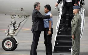 """Evo Morales llegó a México tras obtener asilo político: """"Me salvaron la vida"""""""