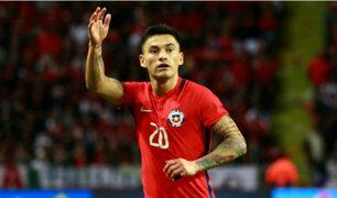 Jugador chileno pide que se cancele amistoso ante Perú