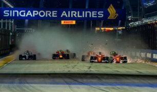 Fórmula 1 planea eliminar sus emisiones de dióxido de carbono para el 2030