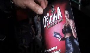 Surco: clausuran prostíbulo que funcionaba bajo fachada de discoteca
