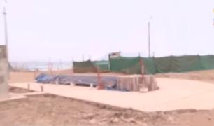 Playas de la Costa Verde presentan desmonte y obras inconclusas