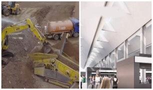 Inician trabajos de ampliación del aeropuerto Jorge Chávez