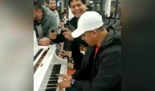 Armonía 10: orquesta peruana armó la fiesta en aeropuerto de París
