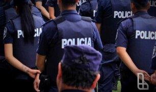 Policías fueron detenidos tras ser acusados de integrar banda dedicada robos y secuestros