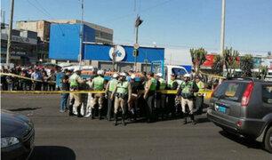 Arequipa: mujer policía falleció en accidente vehicular