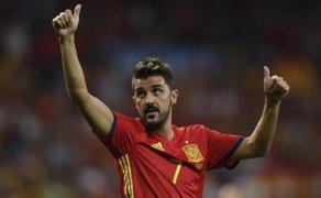 David Villa, campeón mundial con España, se retira del fútbol