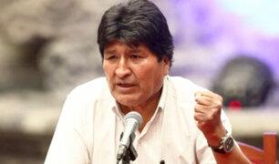 """Evo Morales deja México y viaja """"temporalmente"""" a Cuba"""