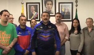 Brasil: Chavistas y opositores causan problemas en embajada venezolana