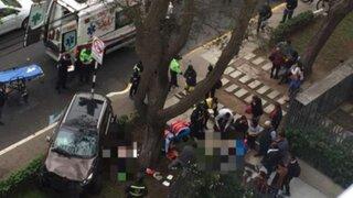 San Isidro: instalan radar de control de velocidad donde ocurrió fatal accidente