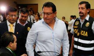Félix Moreno cumplirá 5 años de prisión en penal Ancón I