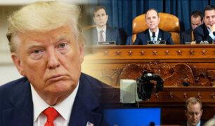 "EEUU: testigos del ""impeachment"" incriminan directamente a Donald Trump"