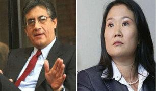 Esperan que declaraciones de Sheput a Domingo Pérez no afecten proceso de Keiko Fujimori