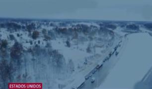 Estados Unidos: Illinois y Kansan soportan temperaturas de 13 grados bajo cero