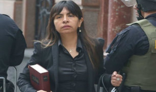 """Giulliana Loza: """"Invocamos a miembros del TC no valorar declaración de Jorge Yoshiyama"""""""