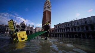 Venecia en estado de emergencia: más del 80% de la ciudad está inundada