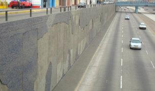 Miraflores: restauran mural de Ricardo Wiesse en la Vía Expresa