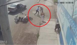 Chiclayo: joven logró detener a ladrones que le arrebataron su celular