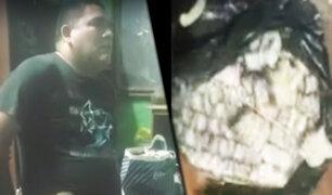 Centro de Lima: cae sujeto que vendía droga muy cerca de Palacio de Gobierno