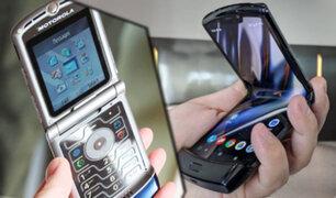 El Motorola Razr vuelve a la vida con una pantalla plegable