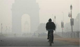 Nueva Delhi: autoridades ordenaron el cierre de escuelas por altos indices de contaminación