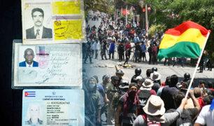 Bolivia: ciudadanos cubanos fueron detenidos en medio de protestas