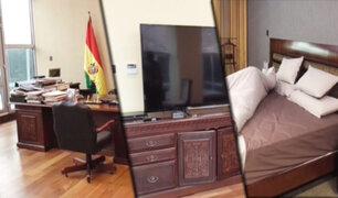 Bolivia: muestran lujosa casa donde vivía Evo Morales