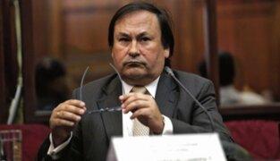Caso Odebrecht: PJ dictó comparecencia con restricciones para Horacio Cánepa