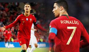 Selección de Portugal: con hat-trick de Cristiano Ronaldo venció por 6-0 a Lituania