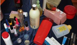 Cercado de Lima: incautan gran cantidad de cosméticos sin registro sanitario y vencidos