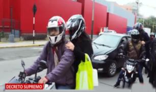 Usuarios saludan prohibición de servicio de taxi en moto lineal