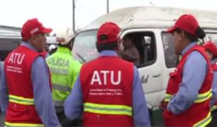Primer operativo de ATU: 50 vehículos fueron internados en el depósito