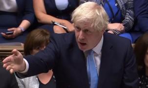 Boris Johnson promete que Reino Unido saldrá de la Unión Europea en enero
