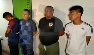 Los Olivos: cae banda 'Los rápidos de Pro' con armas, municiones y droga