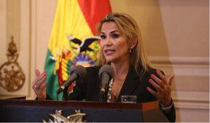 Bolivia: Jeanine Añez convocará a nuevas elecciones generales